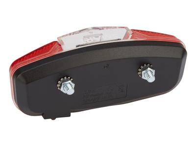 Smart Baklykta till pakethållare med batterier - Diod ljus