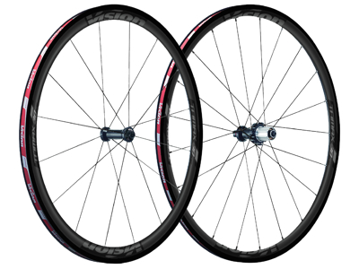 Vision Trimax 30 KB - Hjulsæt - 700c - Clincher Tubeless Ready - Sort
