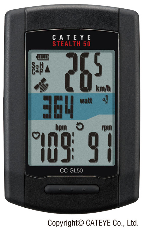Cateye Computer Stealth 50 GPS CC-GL50 | Cycle computers