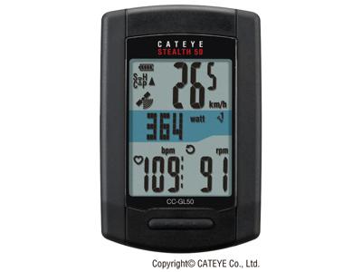 Cateye Computer Stealth 50 GPS CC-GL50