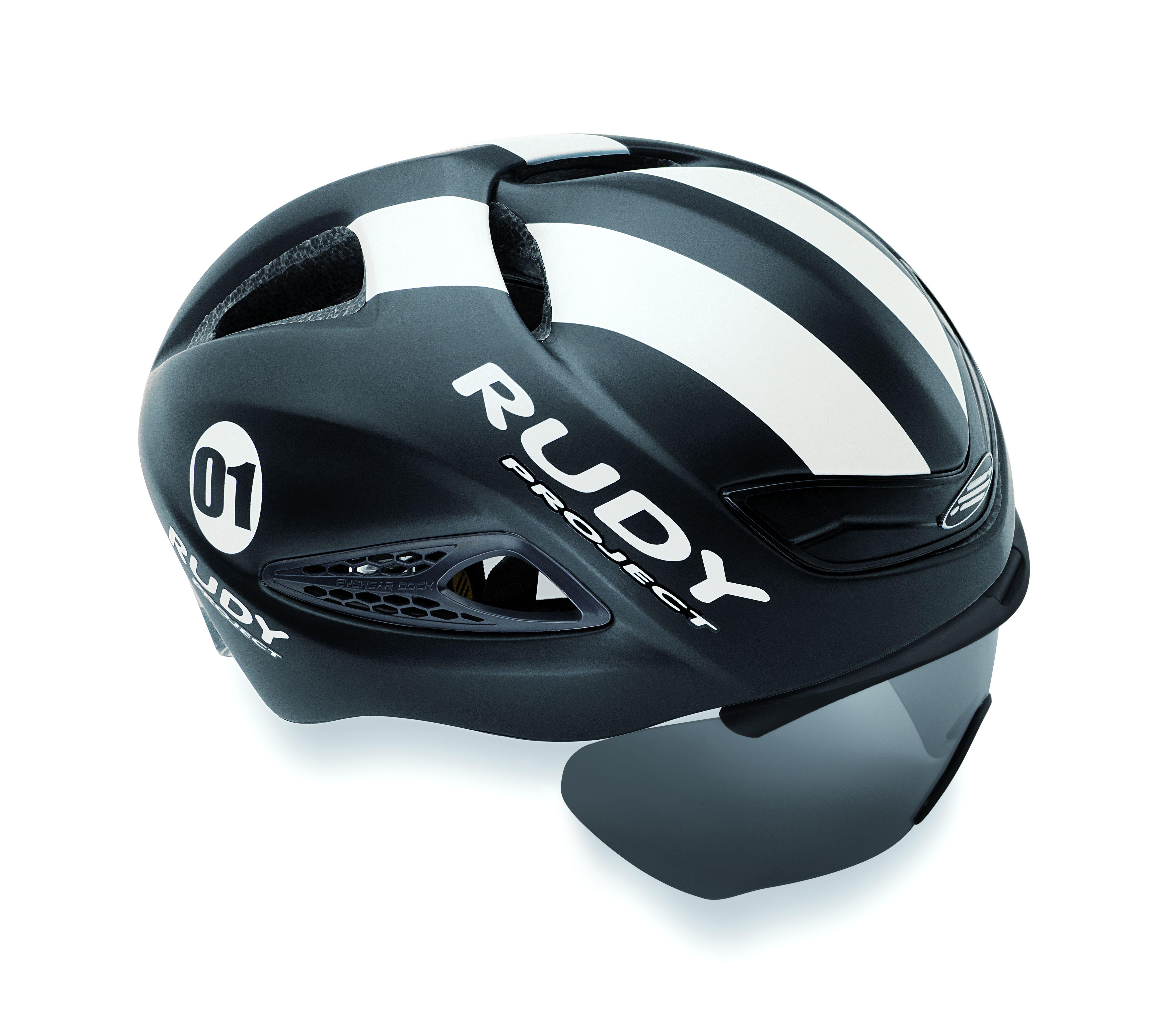 Rudy Project Boost 01 - Cykelhjelm - Mat Sort/Hvid | Hjelme