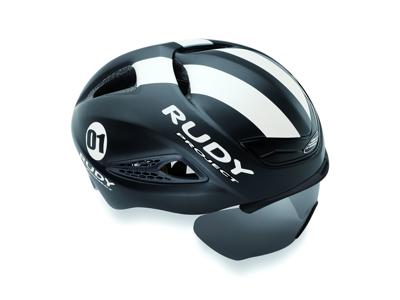 Rudy Project Boost 01 - Cykelhjelm - Mat Sort/Hvid