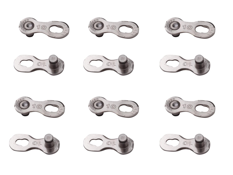 YBN - Samleled til 10 Gear - 6 stk. - Sølv | Chains connector