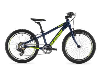 "Eightshot X-Coady 20 - MTB Børnecykel 20"" - Blå/grøn"