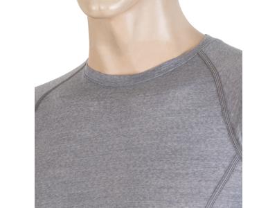 Sensor Merino Active - Svedundertrøje med korte ærmer - Grå