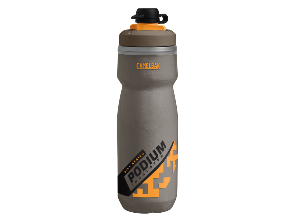 Image of   Camelbak Podium Dirt - Drikkeflaske 620 ml - Grå/Sulphur - 100% BPA fri