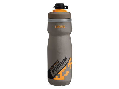 Camelbak Podium Dirt - Drikkeflaske 620 ml - Grå/Sulphur - 100% BPA fri