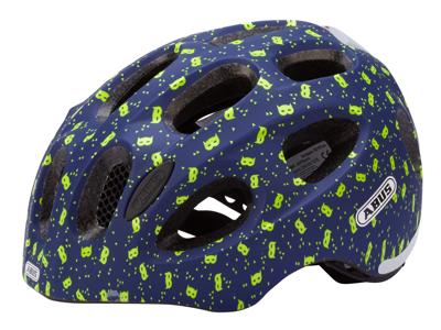 Abus Youn-I - Cykelhjälm - Blå med masker