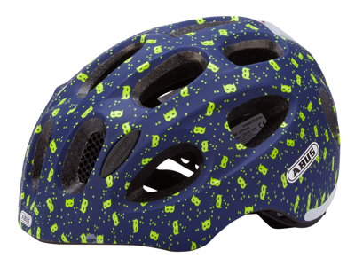 Abus Youn-I - Cykelhjelm - Blå maske