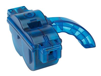 Atredo -  Kæderenser - med roterende børster - Transparent blå