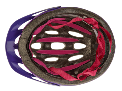 Bell Charger - Cykelhjelm - Str. 50-57 cm - Lilla/Blomme