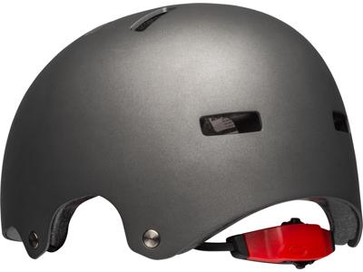 Bell Span - Cykel- og skaterhjelm - Mat Sølv