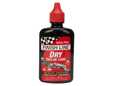 Finish Line - Dry Lube Teflon - Olja - droppflaska - 60ml - Röd