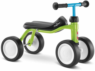 Puky - Pukylino - Løbecykel  fra 1 år/ 75 cm - Grøn/Blå