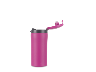 LifeVenture Flip-Top Thermal Mug - Termomugg - 0,3 l - Rosa