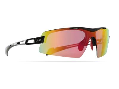 DLX Doppler - Sportsbrille med TR90 fleksibel stel - Sort