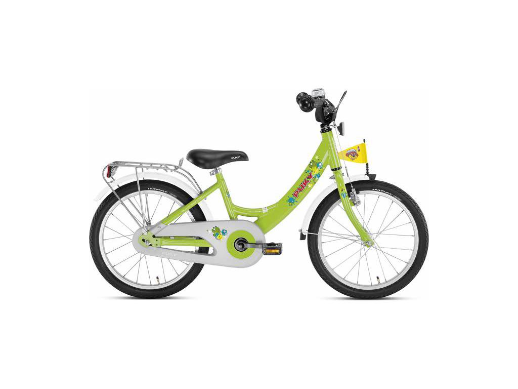 """Børnecykel Puky Zl 18 Alu 18"""" Grøn Kiwi"""