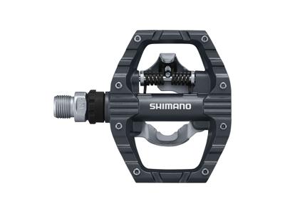 Shimano - SPD og platform Pedaler PD-EH500 Combi grå