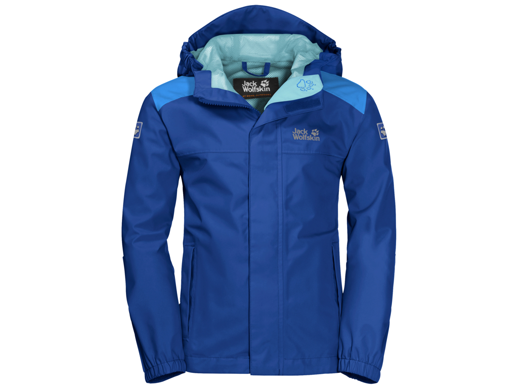 Jack Wolfskin Oak Creek Skaljakke - Kids Str. 128 - Active blue thumbnail