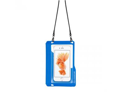 LifeVenture Waterproof Phone Pouch - Vattentät påse till mobil - Blå