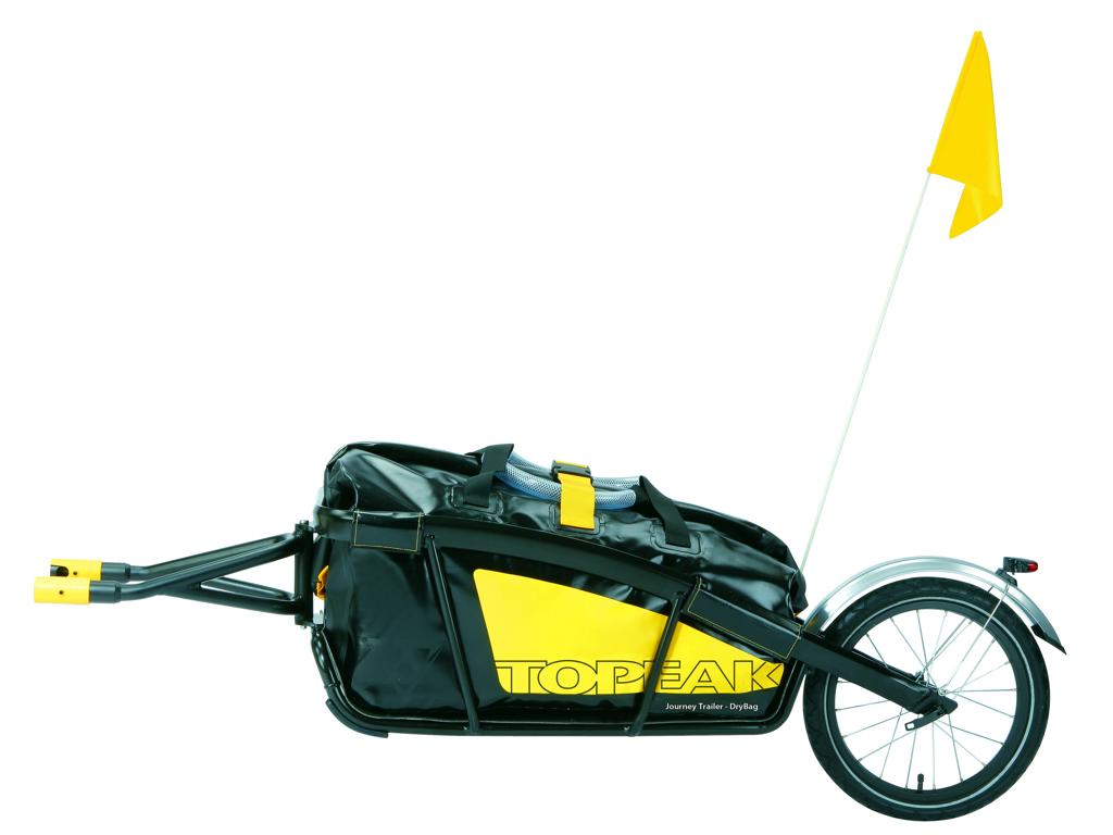 Topeak Trailer Journey med Drybag - Cykeltrailer - QR