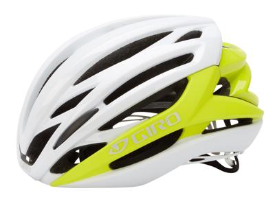 Giro Syntax - Cykelhjelm - Citron/Hvid