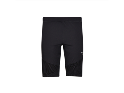 Diadora - Short Tight - Running Tights - Men - Black