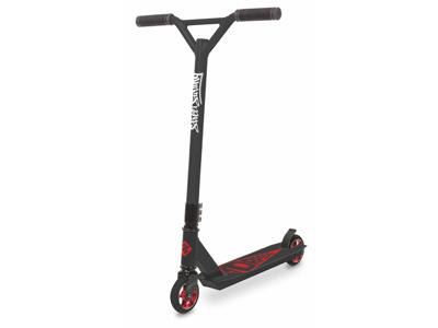 Streetsurfing Torpedo - Løbehjul til børn og begyndere - Sort/Rød