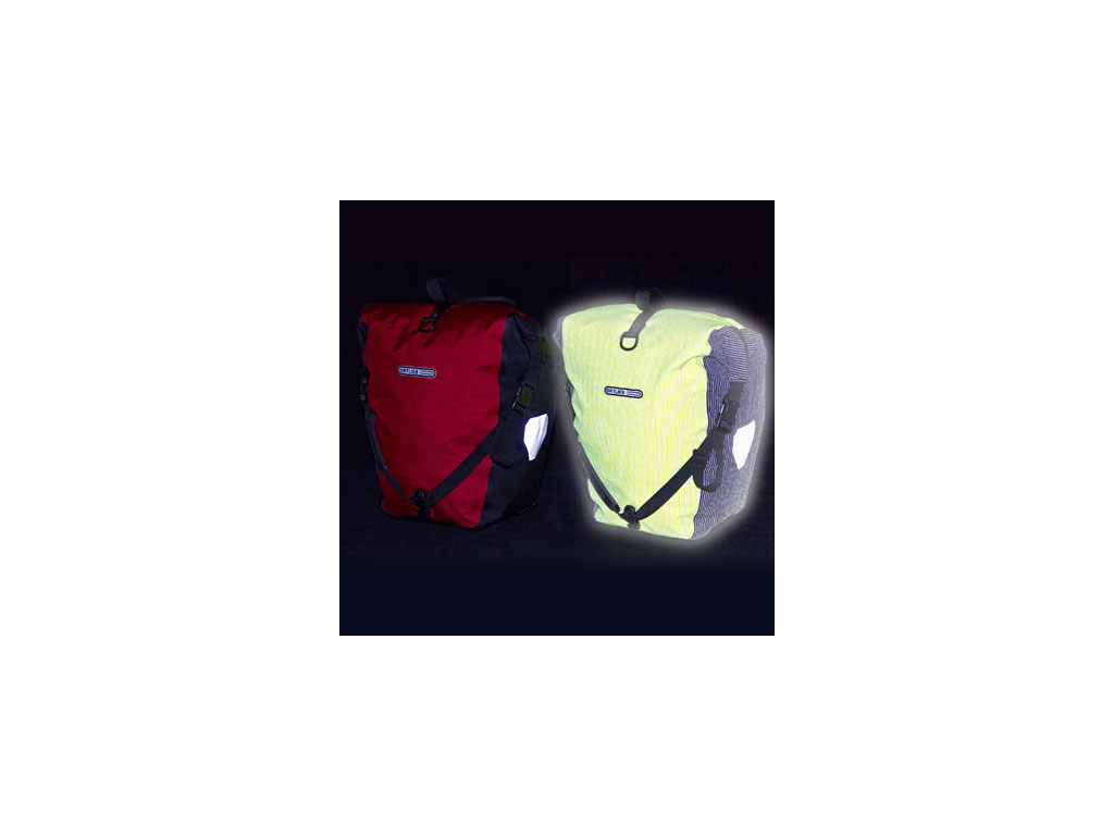 Ortlieb Back-Roller High Visibility - Gul/Sort - 20 liter
