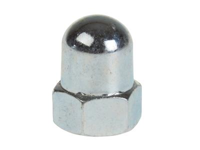 Hjulmutter M9 x 1 mm stängd