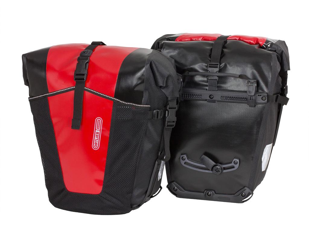 Ortlieb Back-Roller Pro Classic - 2 stk. cykeltasker - 2 x 35L Sort/rød thumbnail