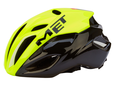MET Rivale Safety cykelhjelm - Gul/Sort