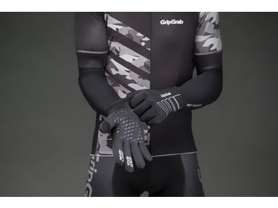 GripGrab Neoprene - Neopren cykelhandske - Sort
