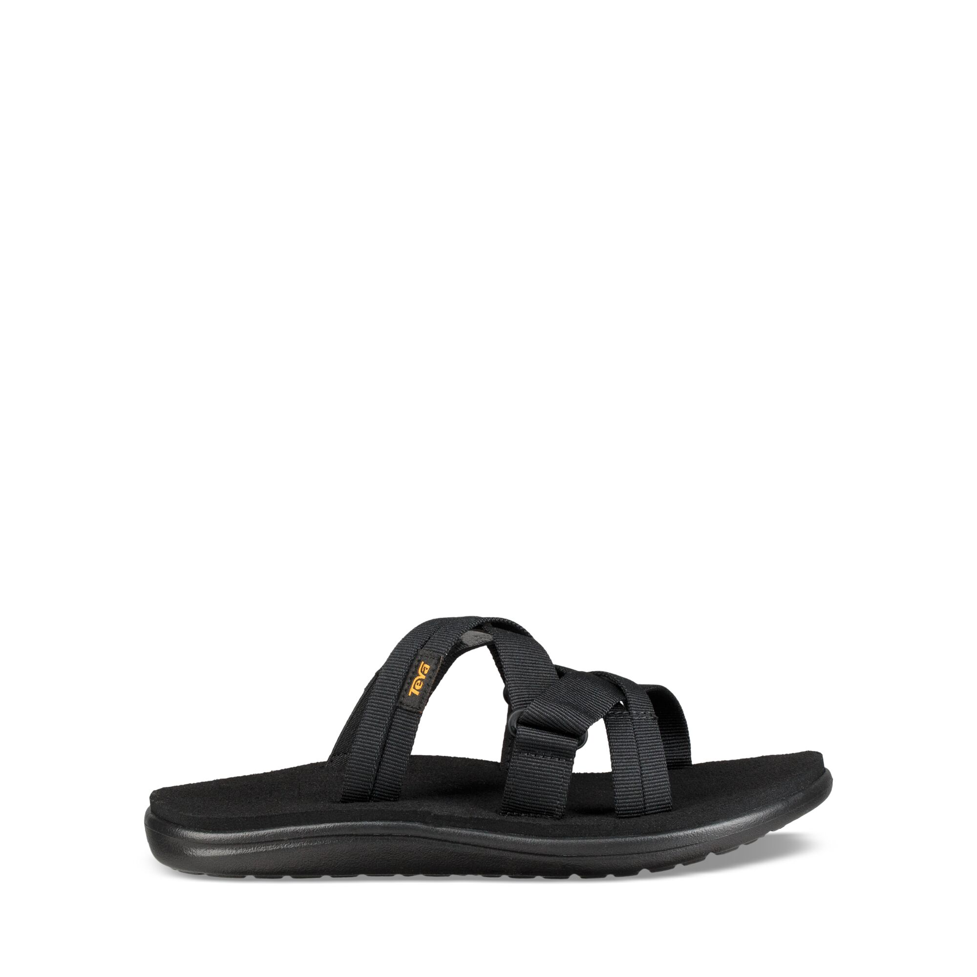 Teva W Voya Slide - Sandal til dame - Sort | Shoes and overlays