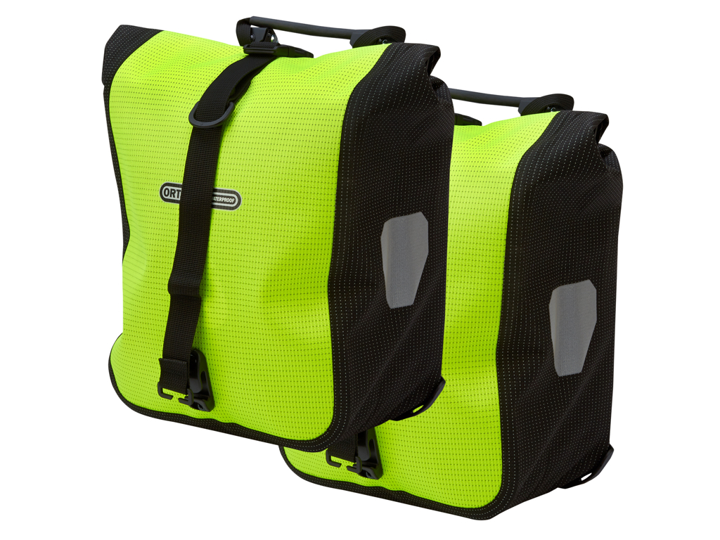Ortlieb - Sport-Roller High Visibility -  Gul/Sort 2x12,5 liter thumbnail