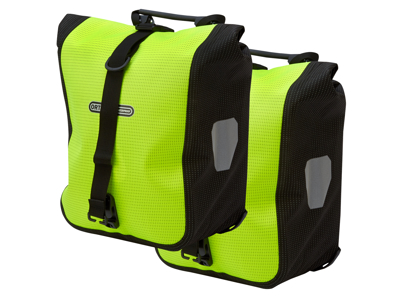 Ortlieb - Sport-Roller High Visibility -  Gul/Sort 2x12,5 liter