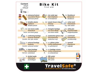 Travelsafe Bike Kit - Førstehjælpskit m. indhold