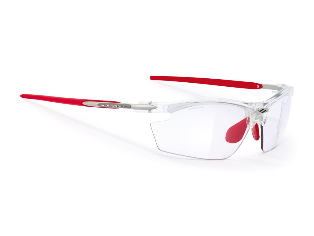 Rudy Project - Löpar- och cykelglasögon Rydon med Fotokromatiska linser - Crystal