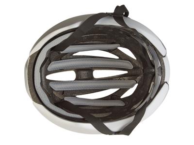 Giro Syntax - Cykelhjälm - Matt vit / silver