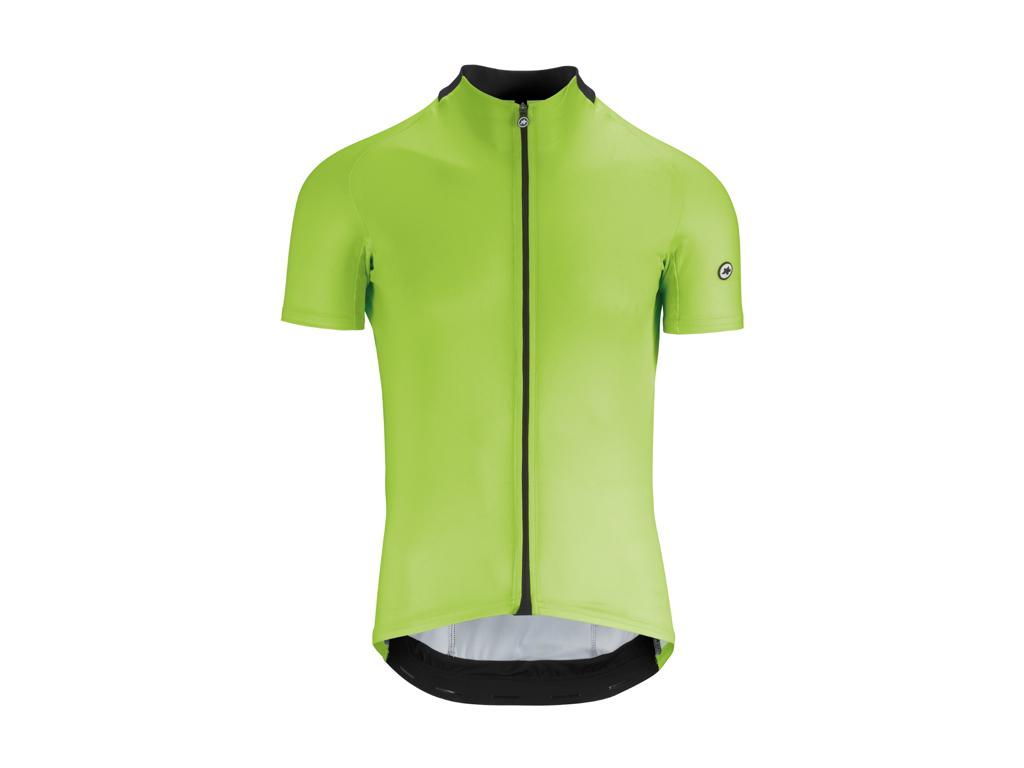Image of   Assos Mille GT Short Sleeve Jersey - Cykeltrøje - Hi-Vis Grøn - Str. L