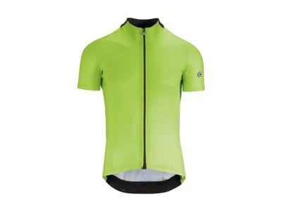 Assos Mille GT Short Sleeve Jersey - Cykeltrøje - Hi-Vis Grøn - Str. XL