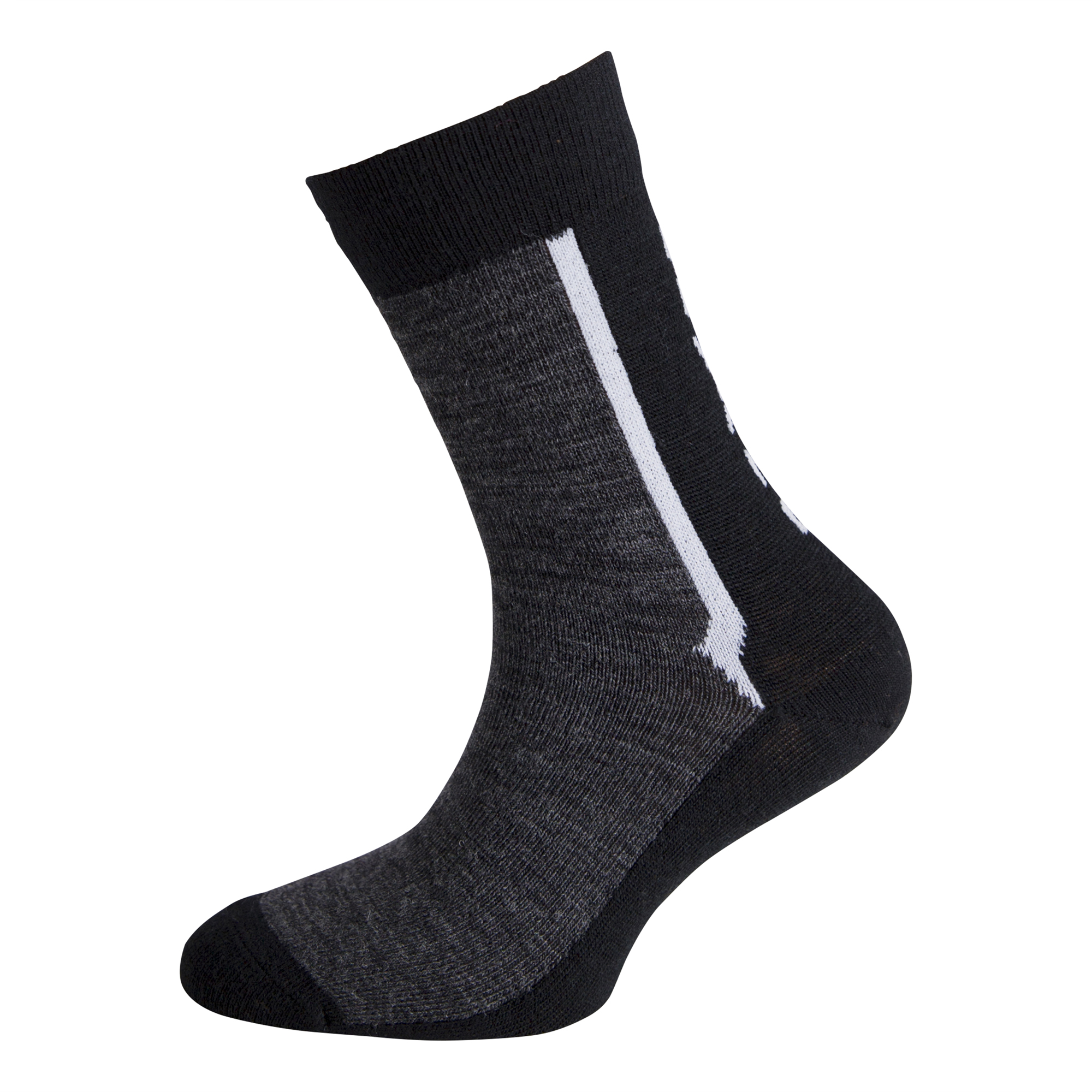 Ulvang Ultra Jr 2 pk - Let uldsok børn - Koksgrå | Socks