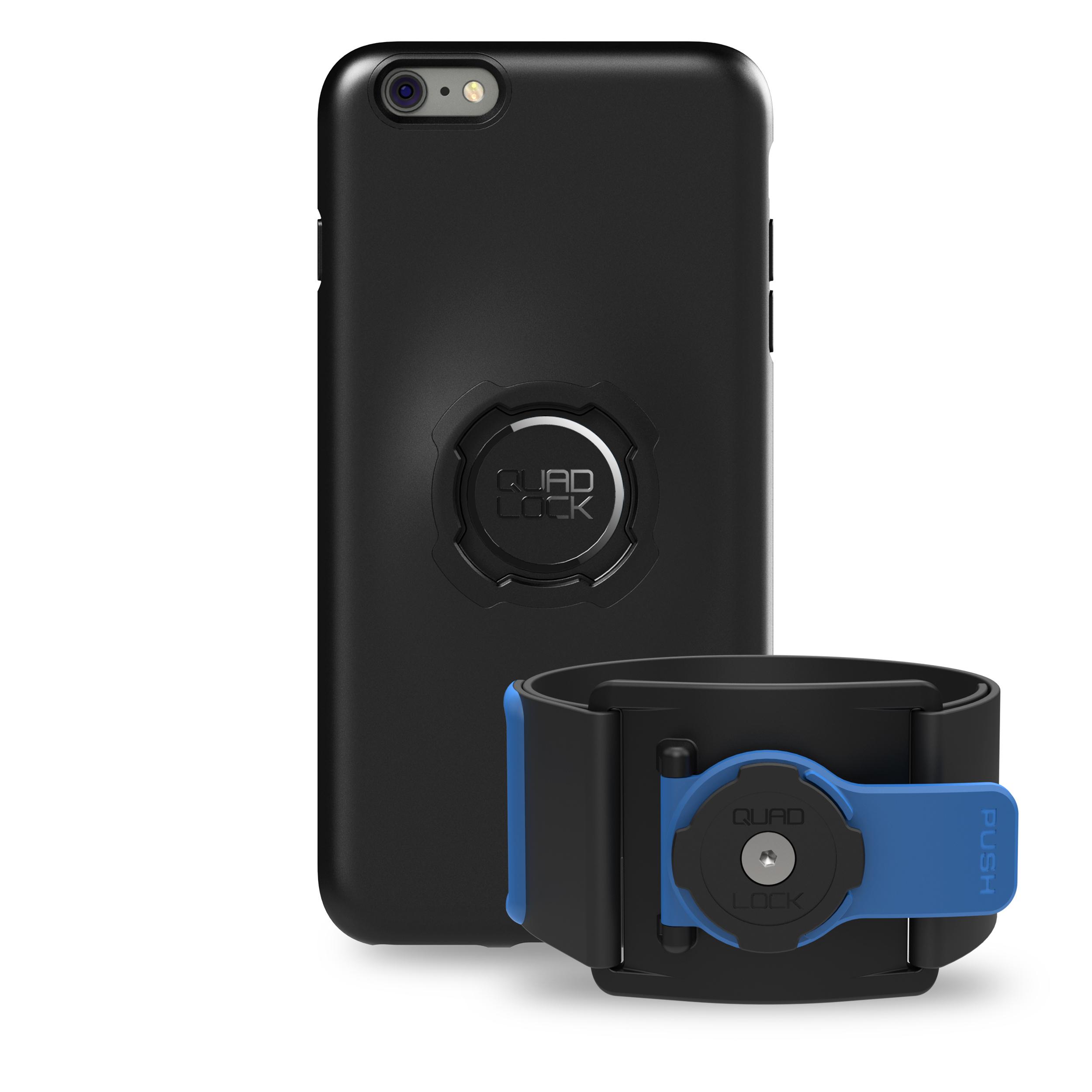 Quad Lock - Run kit - Cover, cage og strop til overarm - Til Samsung 8+ | shoes_other_clothes