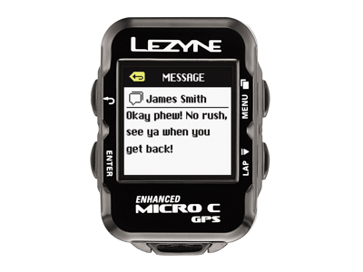 Lezyne Micro Color GPS HR Loaded - Cykelcomputer - Bundle med pulsbælte