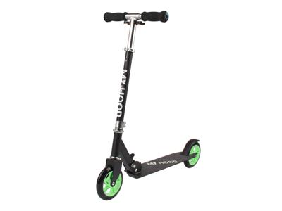 My Hood 145 - Løbehjul til børn - Sort/Grøn