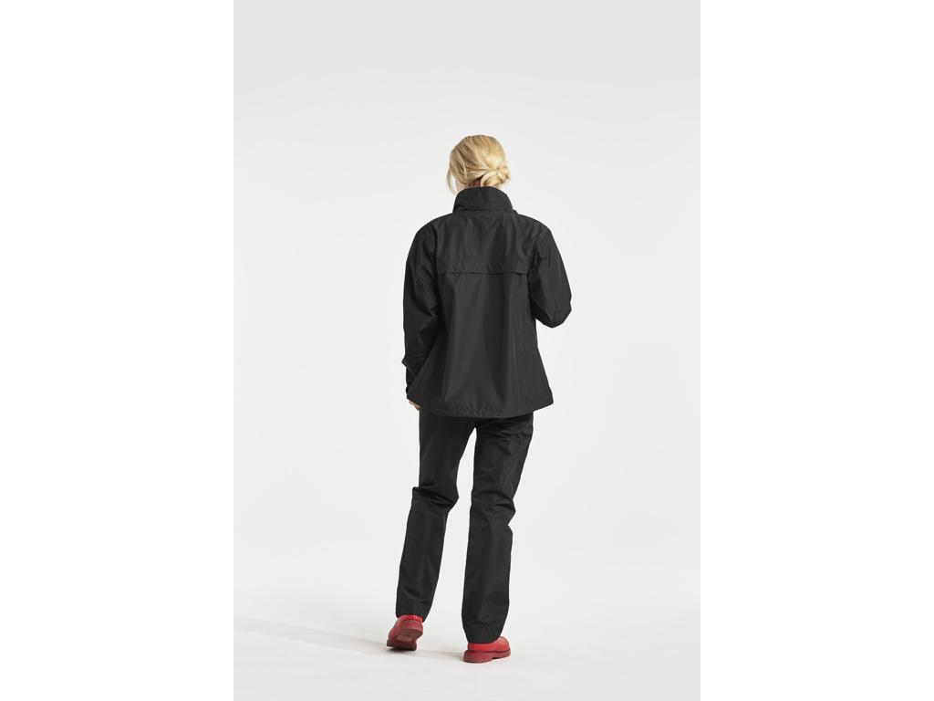 Didriksons Grand Womens Jacket Dame regnjakke Sort (DKK