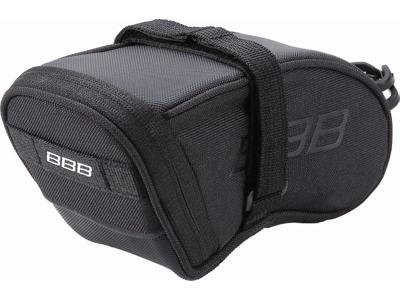 BBB - SpeedPack L - Sadeltaske med velcro - Vandtæt - Sort