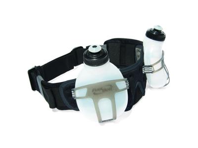 FuelBelt Revenge Bottle Belt til 2 flasker - Væskebælte til løb og træning inkl. 2 flasker