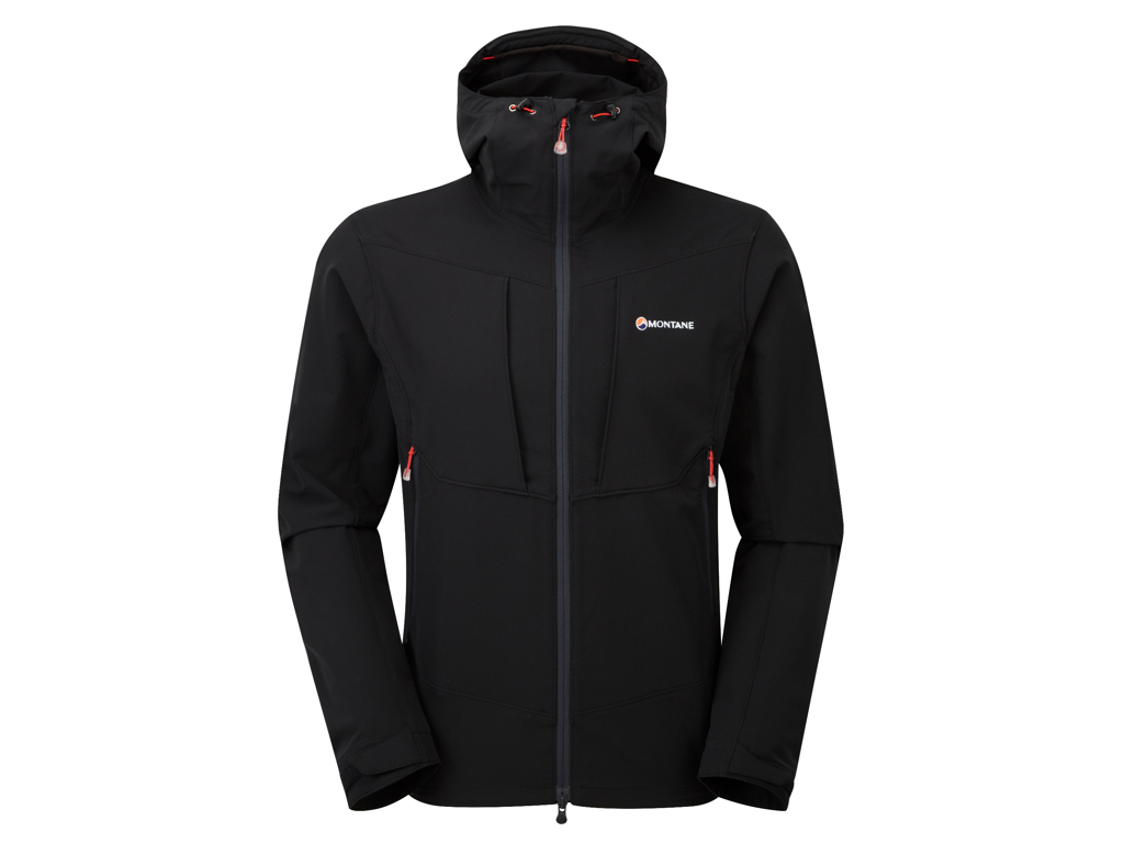 Montane Dyno Stretch Jacket - Softshell Mand - Sort