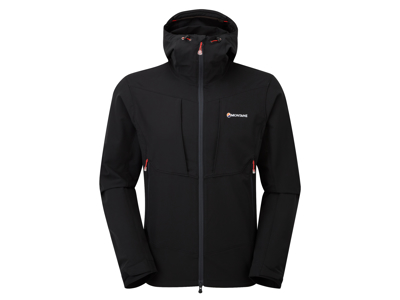 Montane Dyno Stretch Jacket - Softshell Mand - Sort - Large